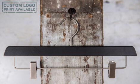 York – matt black clips hanger