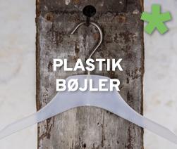 Plastik bøjler