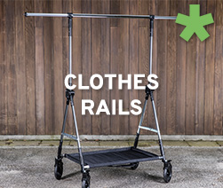 Clothes rails