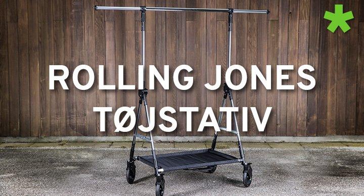 Rolling Jones tøjstativ