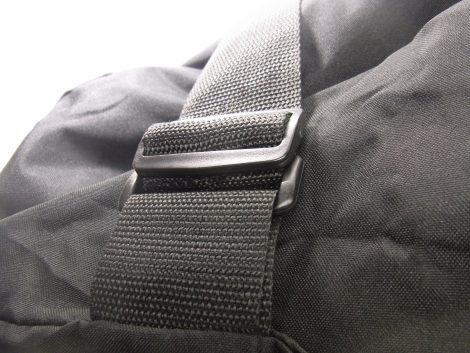 Garment bag with cord